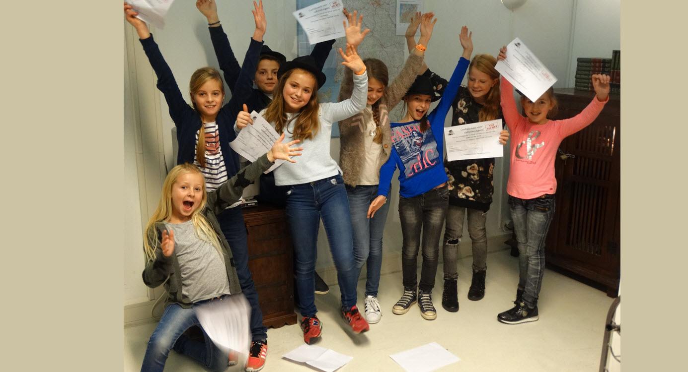 Kinder escaperoom Adventure Veluwe Harderwijk