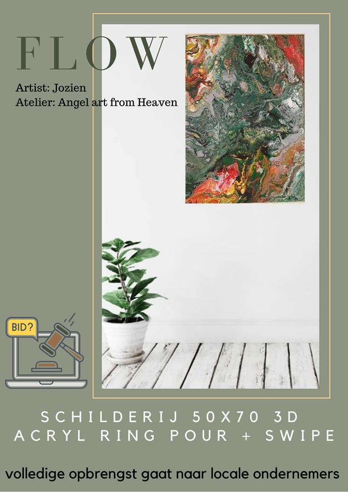Flow schilderij van Jozien