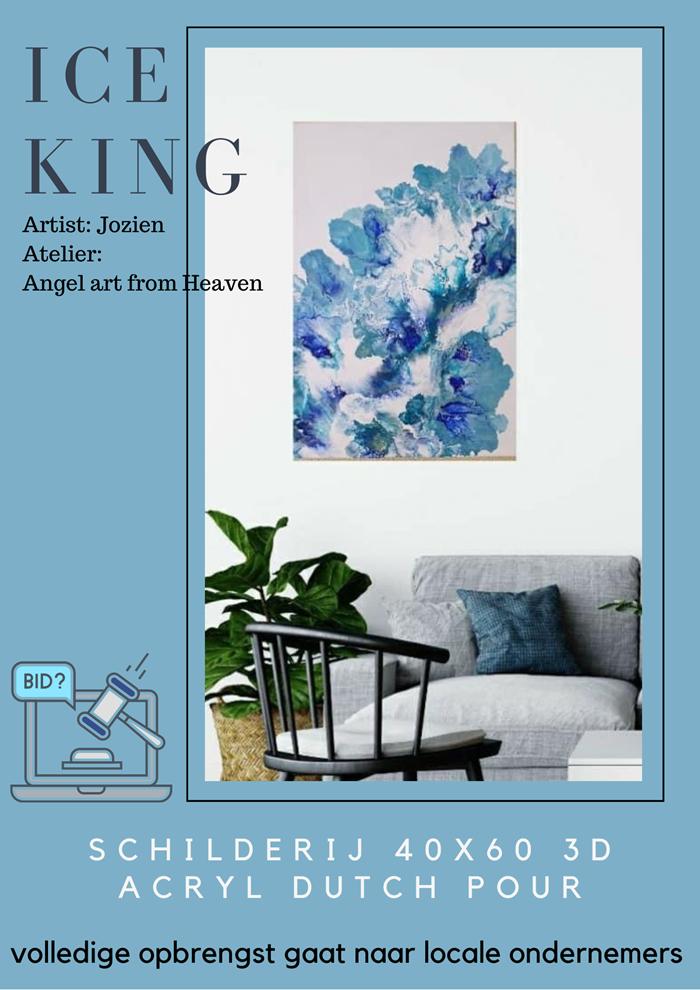 Ice king schilderij van Jozien