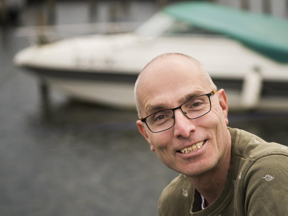 Bernard de Cock Buning van B en B Bootverhuur Harderwijk