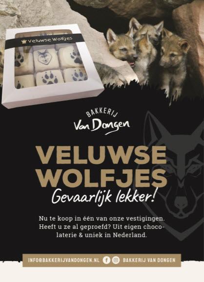 Veluwse Wolfjes gevaarlijk lekker Bakkerij van Dongen