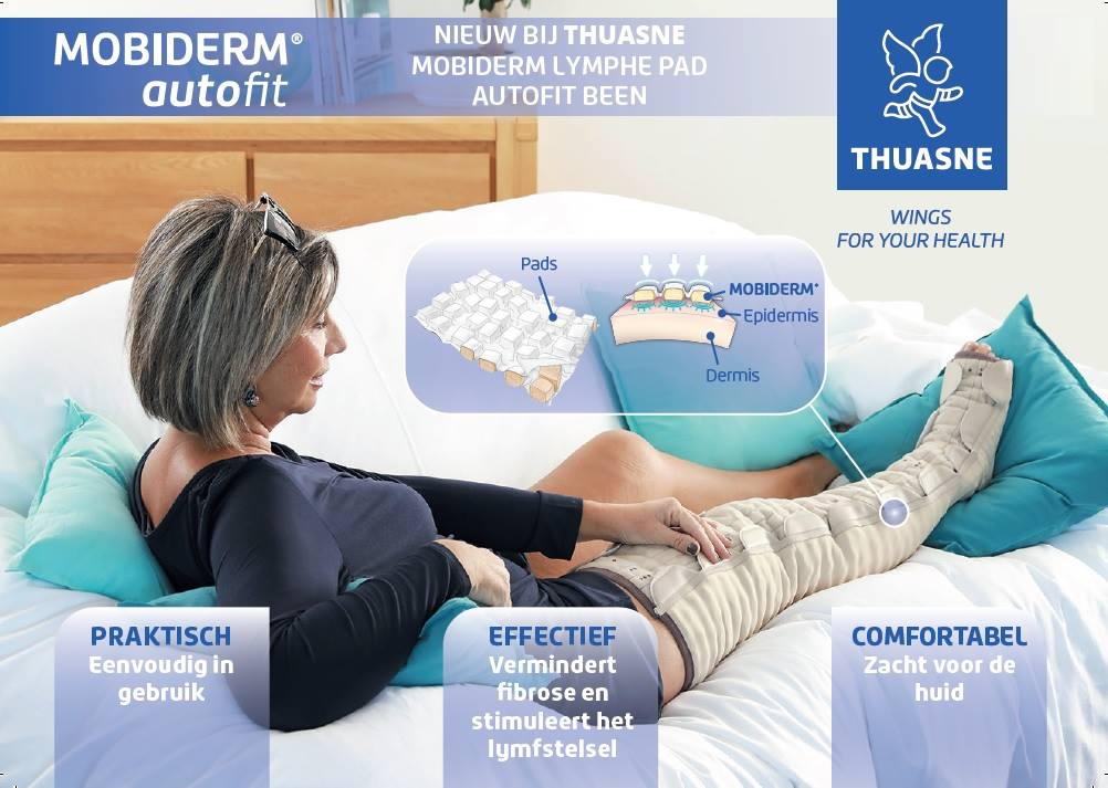 Mobiderm Autofit voor benen Therapeutisch centrum de Berekuyl Hierden
