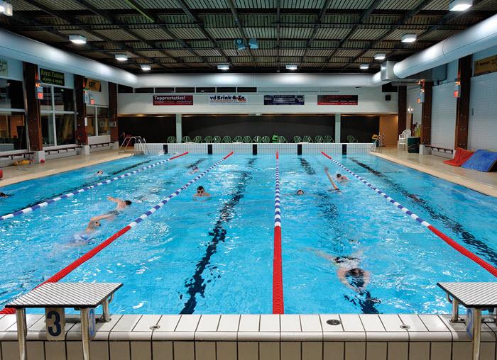 Bosbad Putten subtropisch zwembad
