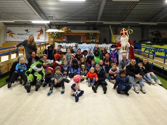 Sinterklaas op bezoek bij Delphindoorski Ermelo