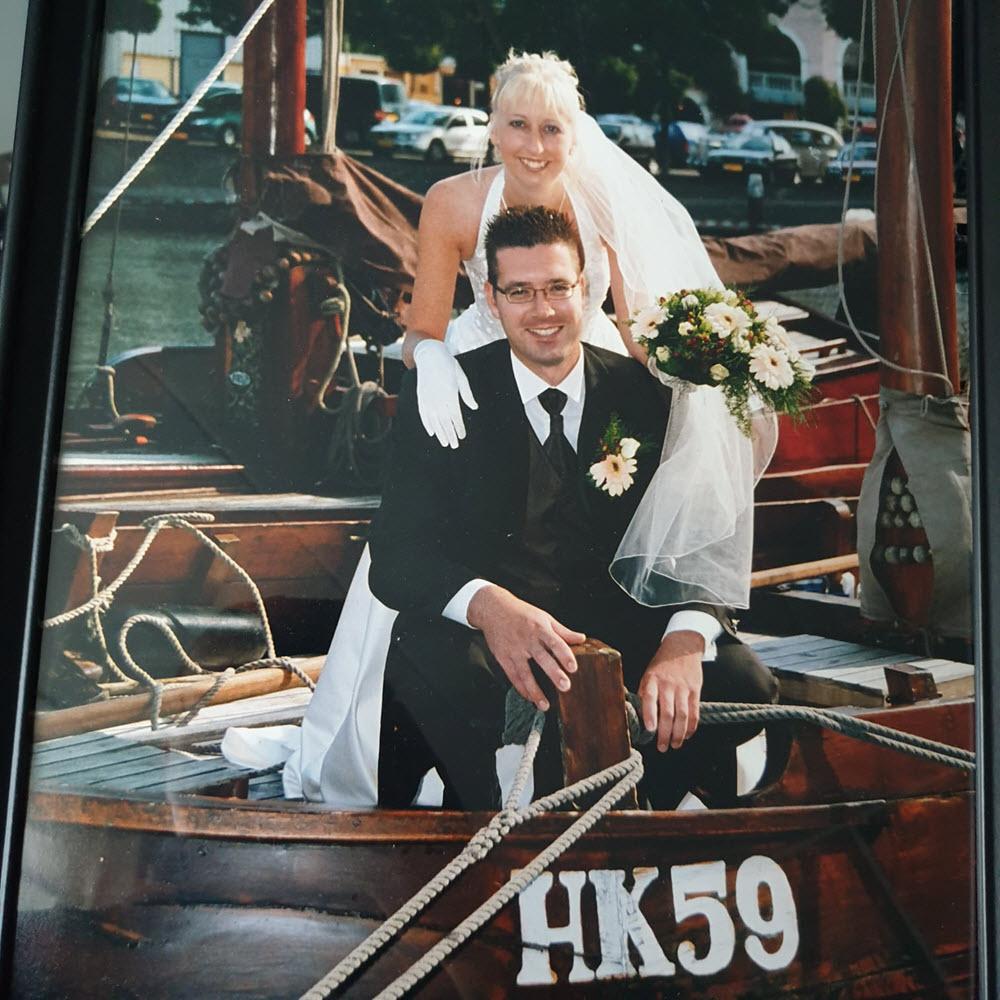 Gerard en Mariska van Dijk op de HK59