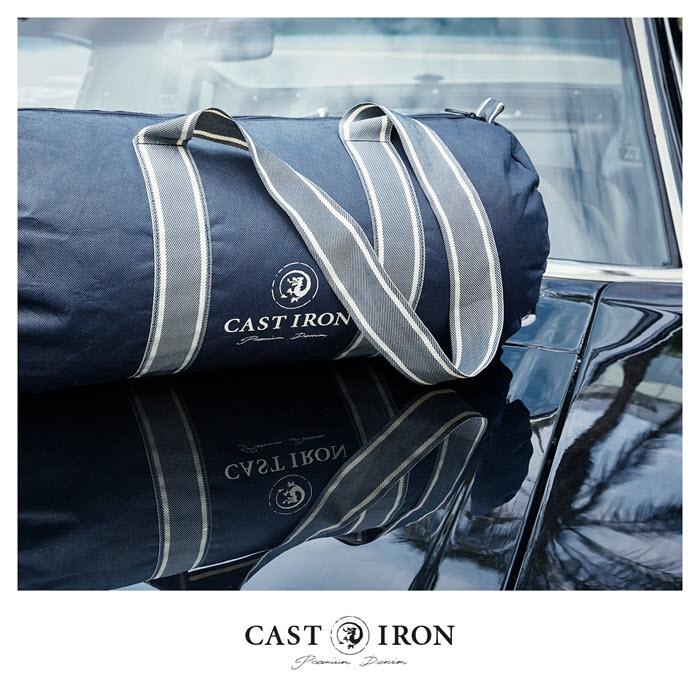 Sportbag van Iron Cast bij Germano Menswear Harderwijk