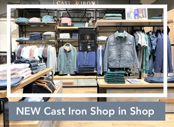 Cast Iron Shop in Shop Germano Menswear Harderwijk