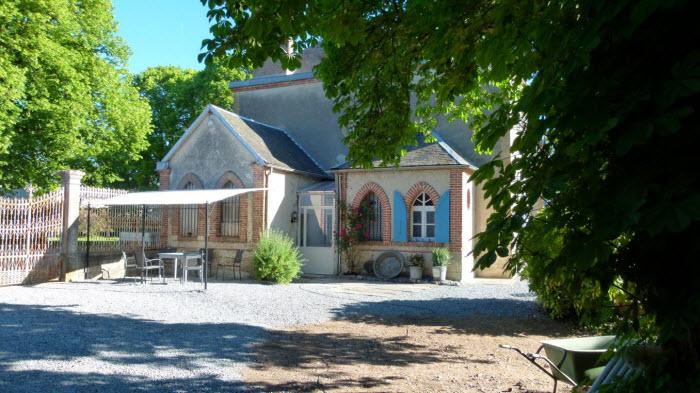 Landhuis op Glamping La Belle St-Fli Frankrijk