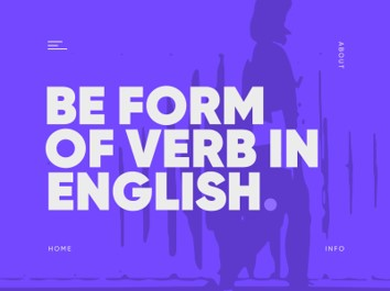 Be Form of Verb in English