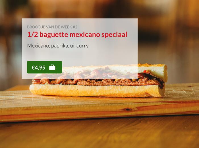 Baquette mexicano speciaal Kok Experience Harderwijk