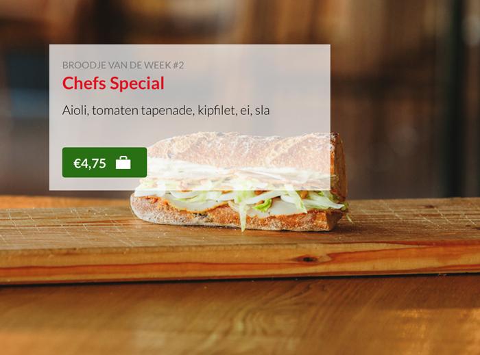 Broodje Chefs Speciaal Kok Experience Harderwijk