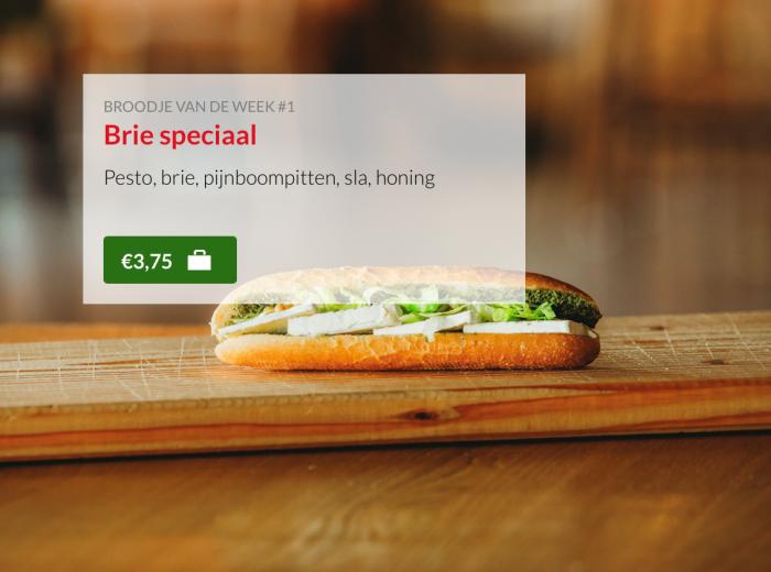 Kok Experience broodje brie Harderwijk