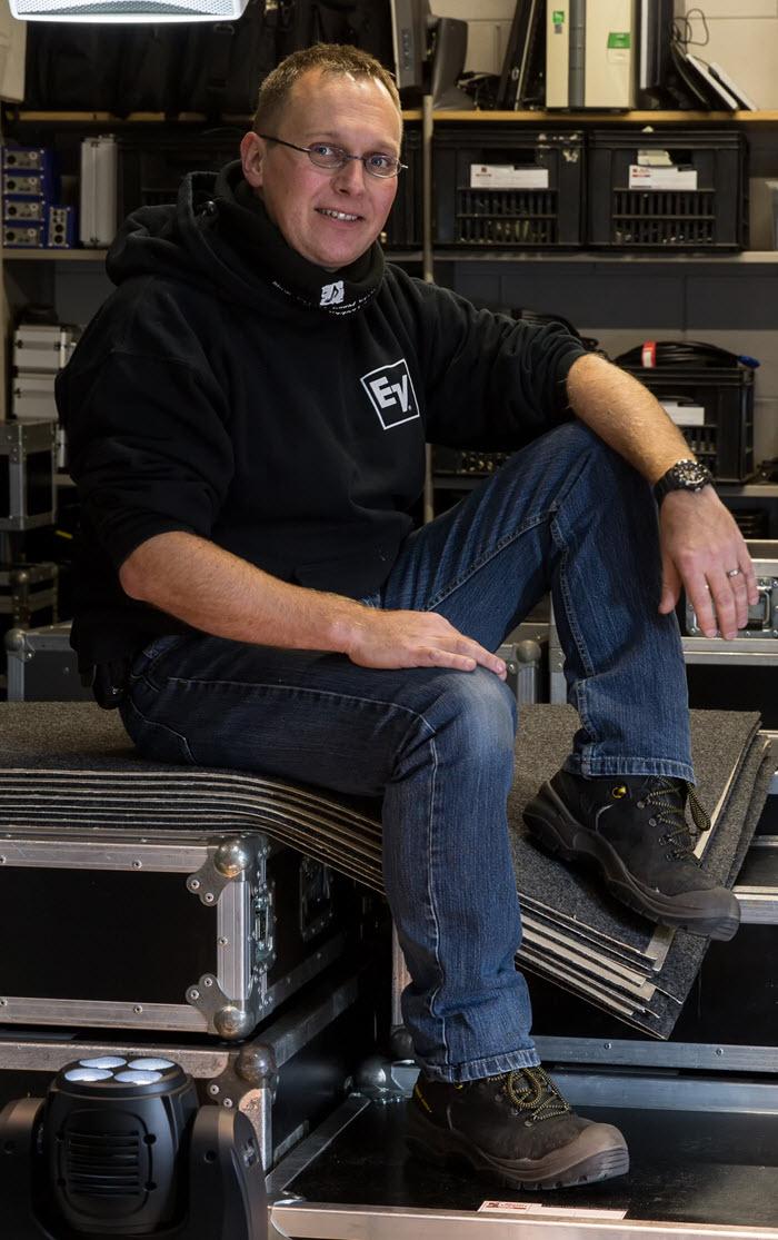 Edwin Dijkens van Music Support