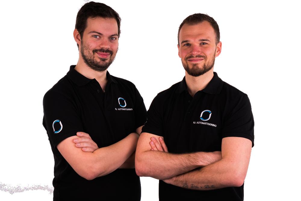 Ruben en Joel van RJ Automatisering Harderwijk