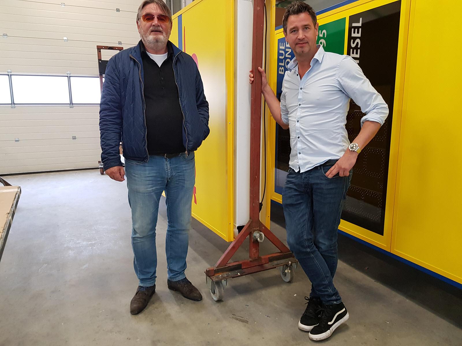 Bertus en Chris Tomassen van Tomassen Reclame Harderwijk
