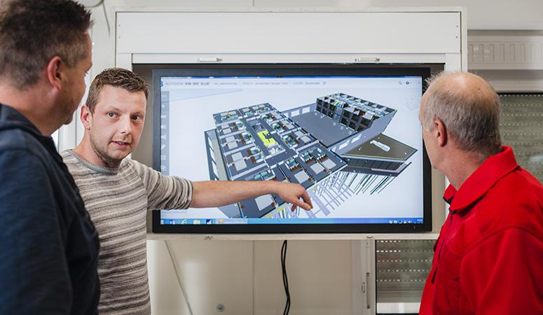 BIM project Van Drunen Installatiegroep B.V. Harderwijk