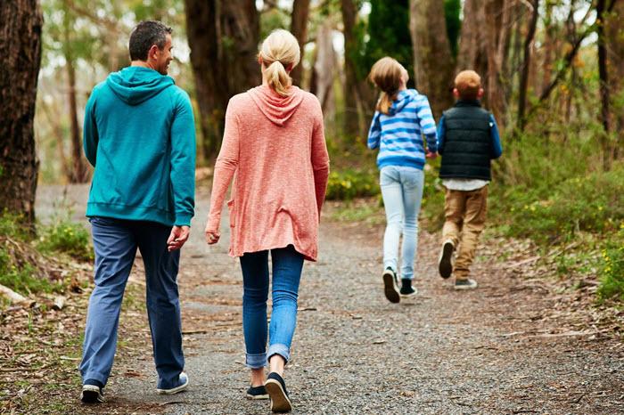 Wandelen met kinderen op Landgoed Stakenberg