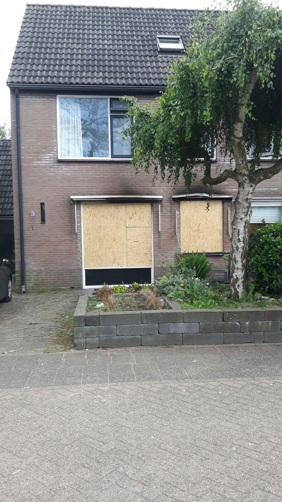 Brand Mandenmakerstraat Zeebuurt Harderwijk