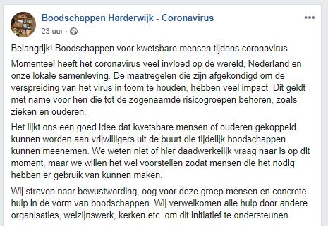 Boodschappendienst Harderwijk