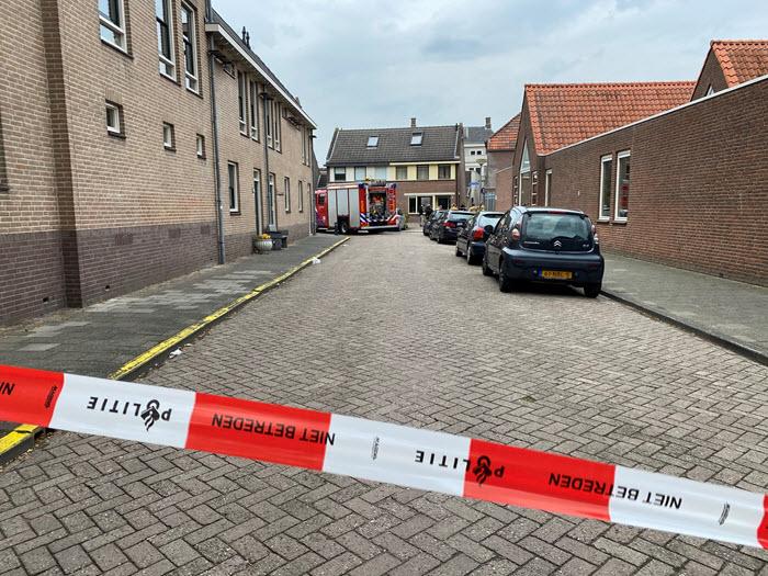 Brand schuurtje Bongerdsteeg Harderwijk