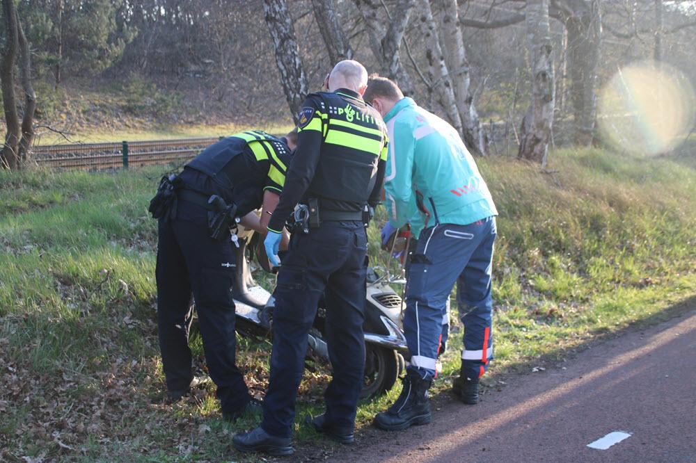 Scooter ongeval Parallelweg Hierden