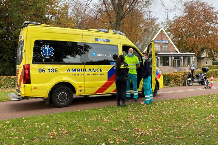 Scooter ongeval Boomkamp Harderwijk 5 november 2020