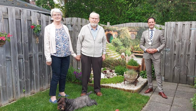 Echtpaar Vuijk 65 jaar getrouwd Harderwijk