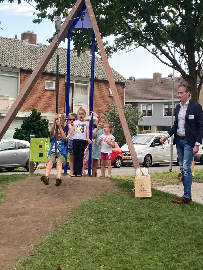 Nieuwe speeltuin Hofdijkstraat Harderwijk
