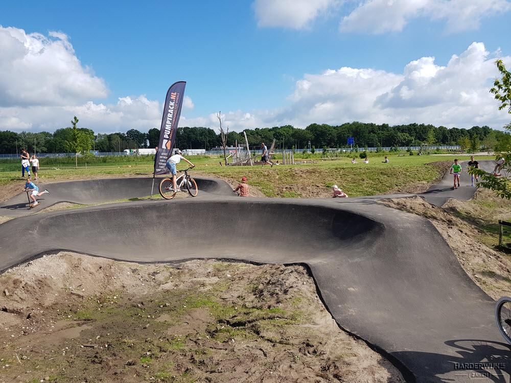 Pumptrackbaan Cresentpark Harderwijk
