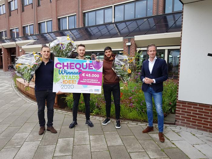 Winnaar stadsidee Harderwijk 2020