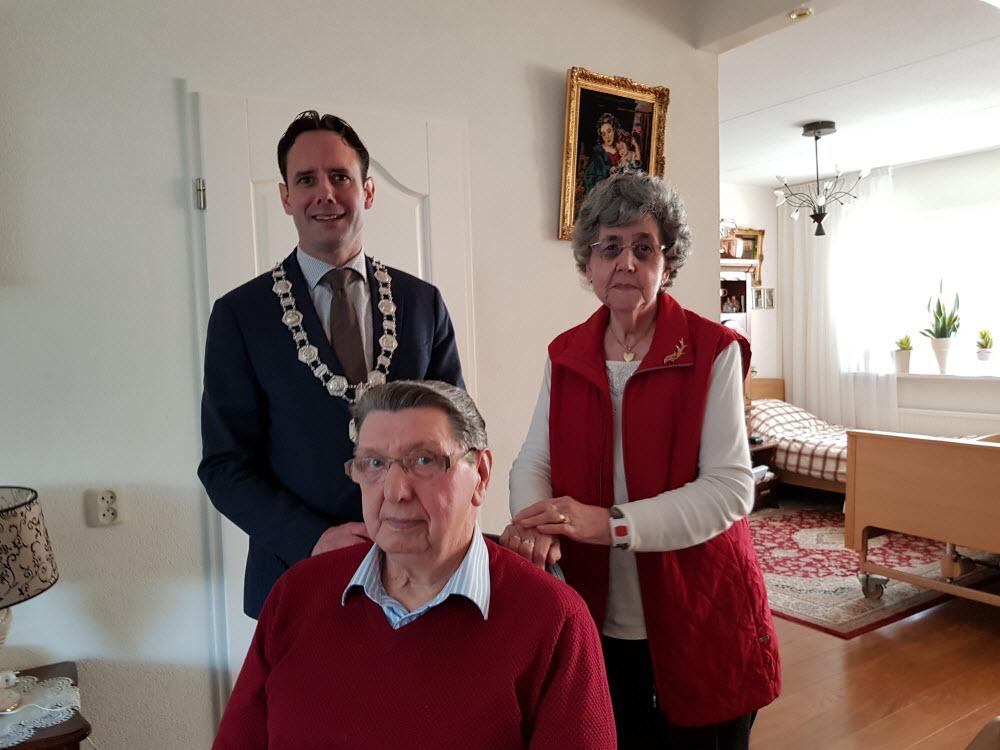 Echtpaar Timmer den Besten 60 jaar getrouwd Harderwijk