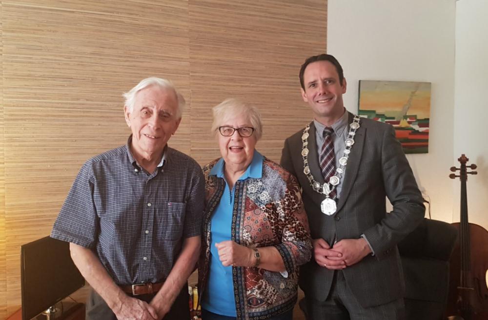 Echtpaar Doppenberg 60 jaar getrouwd Harderwijk