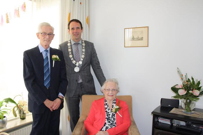 Bruidspaar Wildschut 60 jaar getrouwd Harderwijk