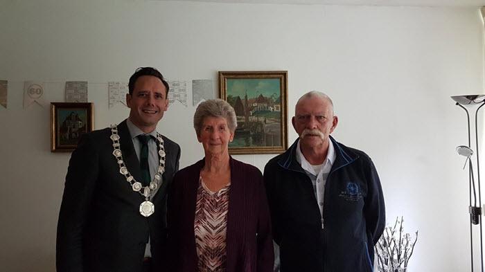 Echtpaar Hagen Reijerse Harderwijk 60 jaar getrouwd