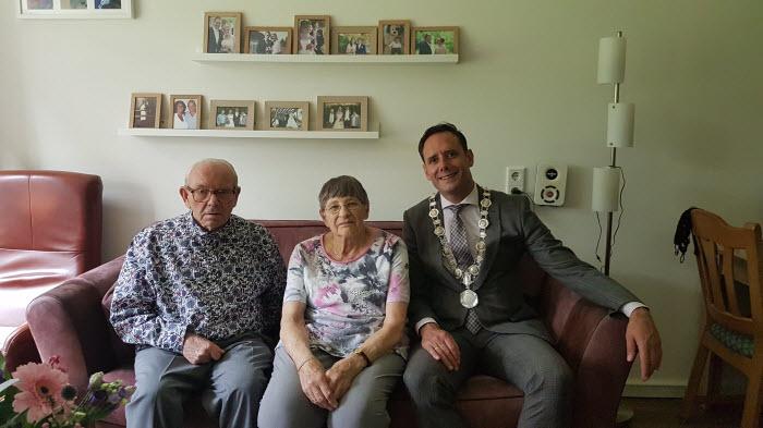 Bruidspaar 60 jaar getrouwd Harderwijk