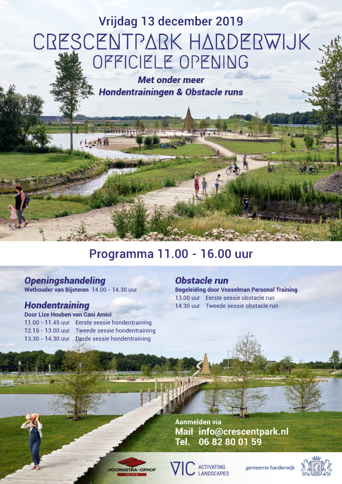 Opening Crecentpark Harderwijk