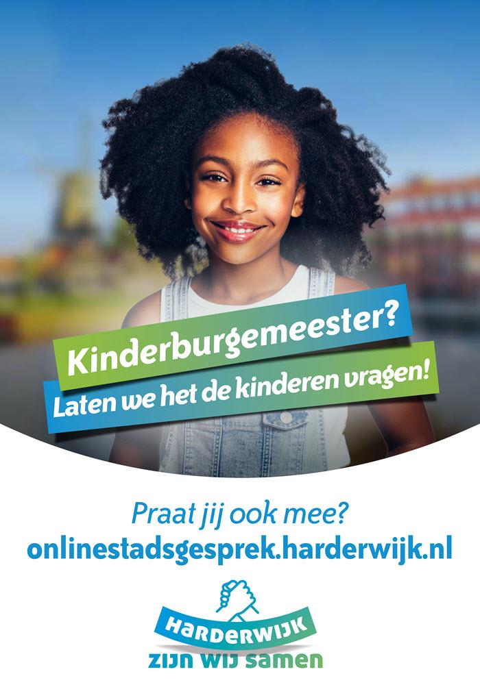 Kinderburgemeester gemeente Harderwijk