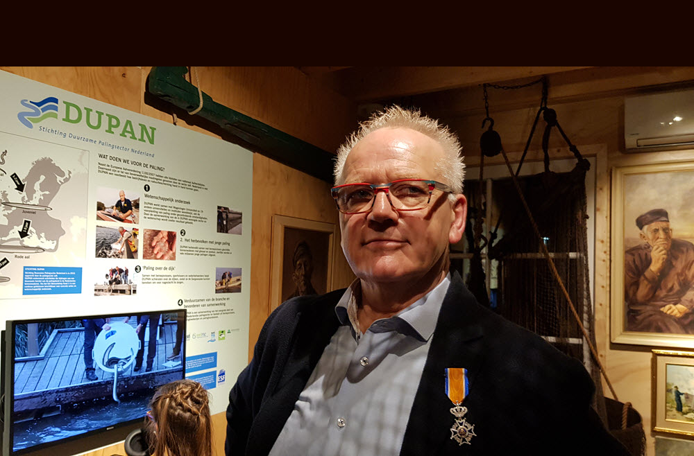 Koninklijke onderscheiding voor Dries van den Berg