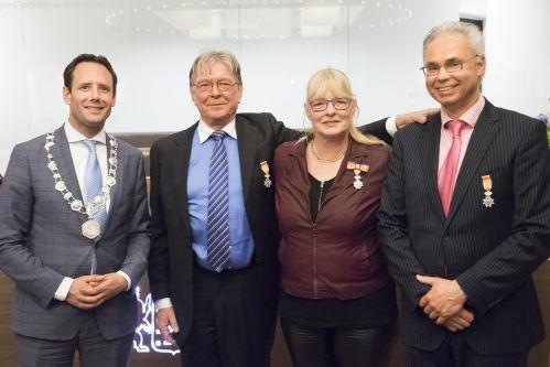 Koninklijke onderscheiden raadsleden 27 maart 2018