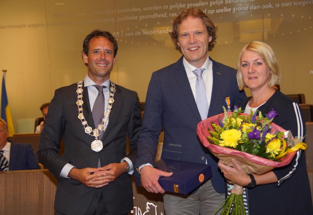 Koninklijke onderscheiding Marcel Companjen Harderwijk