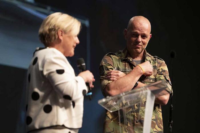 Nico Spierenburg Koninklijk onderscheiden