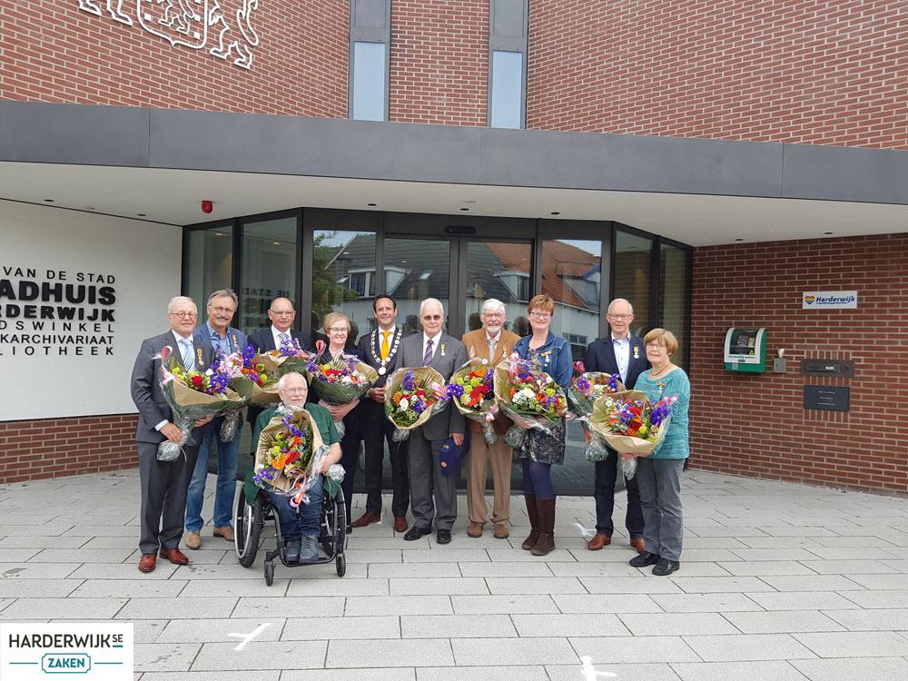 Gedecoreerden Gemeente Harderwijk 2019