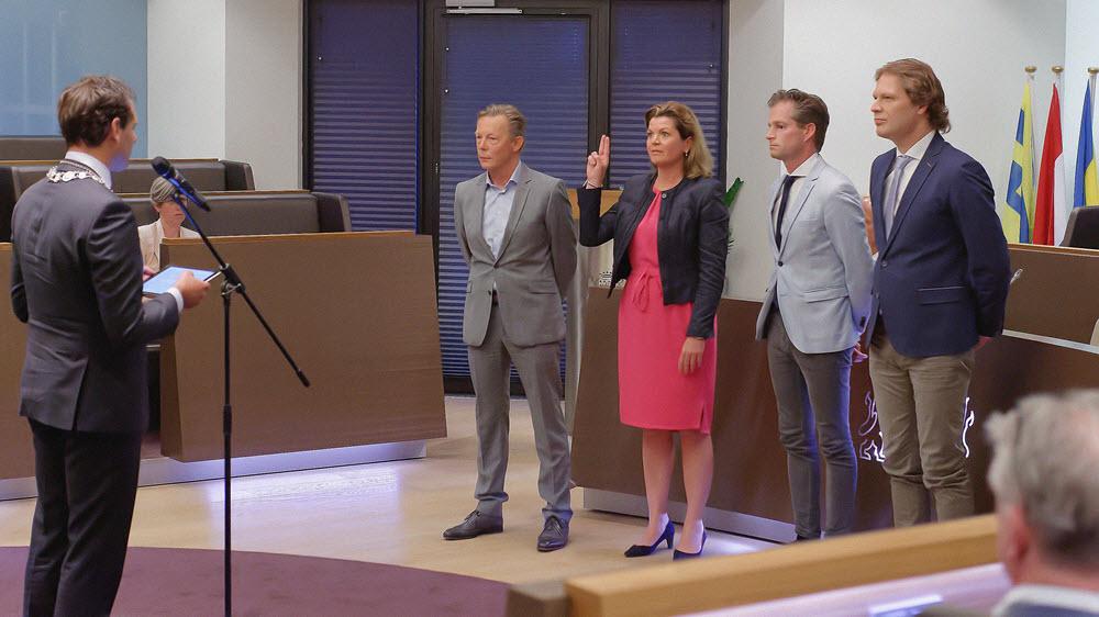 Nieuw college burgemeester en wethouders gemeente Harderwijk 2018