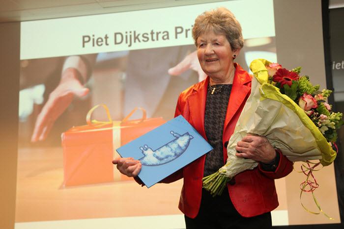 Piet Dijkstraprijs voor Hennie Vierhout-Raaijen
