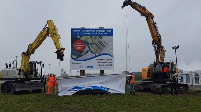 Start van fase 3 Waterfront Harderwijk