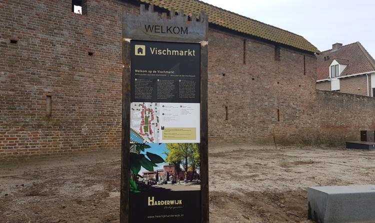 Informatiebord Boulevard Harderwijk