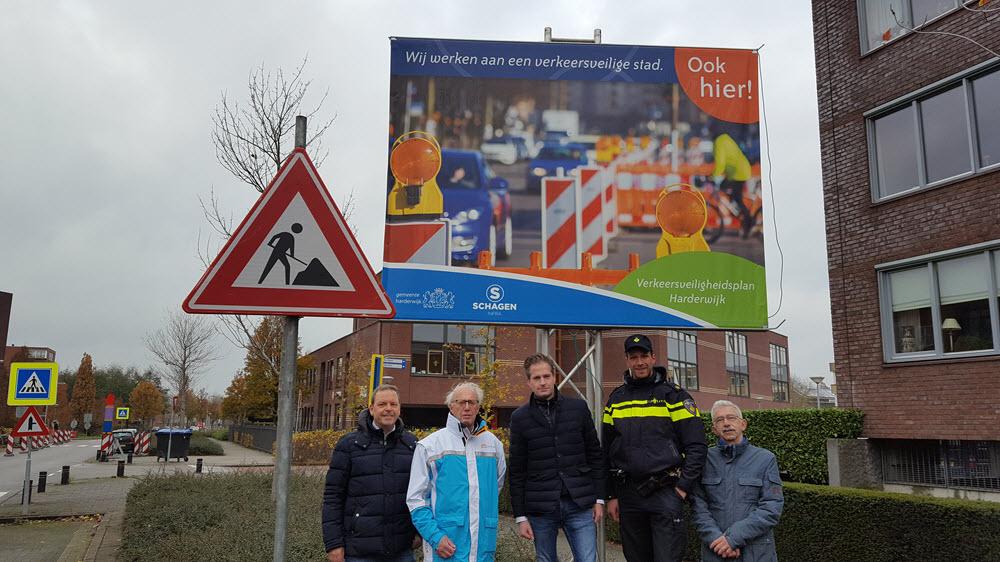 Start verkeersonveilige situaties in de gemeente Harderwijk