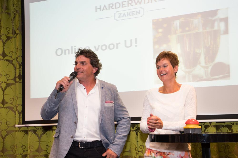 Gerrit en Gerdien Beelen lancering Harderwijkse Zaken 27 mei 2015