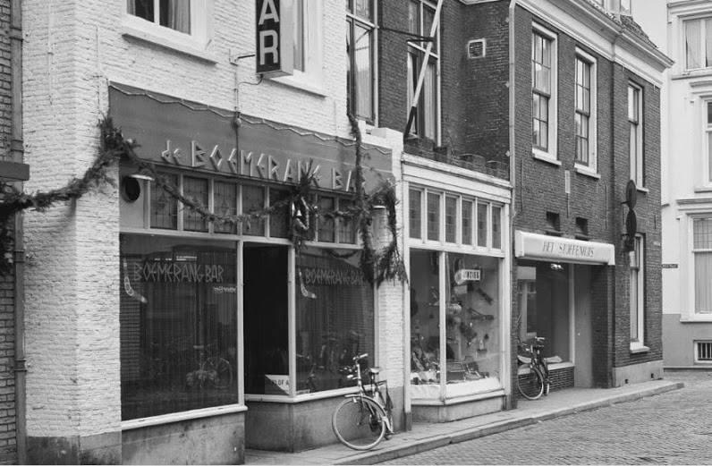 Bar Dancing de Boemerang uit 1965 Harderwijk