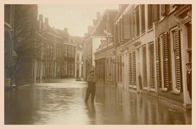 Donkerstraat Harderwijk 14 januari 1916